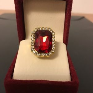 Other - 18k Gold Ring with Diamonds